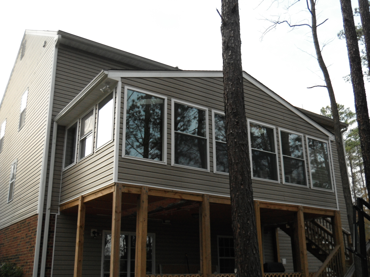 Addition on second story