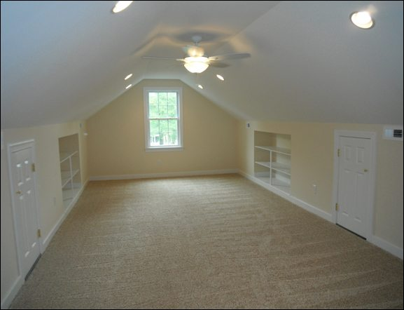 A finished attics add value to your home